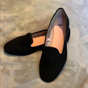 H&M Black Flats